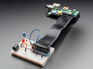 Assembled Pi Cobbler Breakout + Cable For Raspberry Mcus & Sbcs Prototyping
