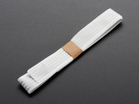 Conductive Thread Ribbon Cable - White - 1 Yard Promotion