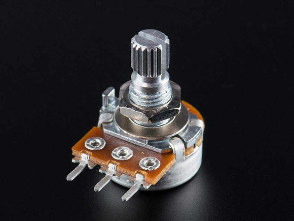 Panel Mount 10K Potentiometer (Breadboard Friendly) - Linear Components