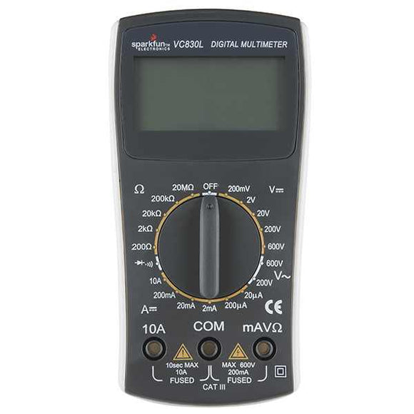 Digital Multimeter - Basic Hardware Equipment For Your Hobbies