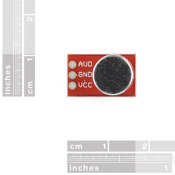 Breakout Board For Electret Microphone Sensors