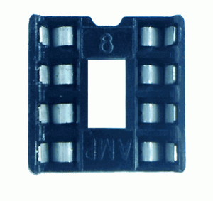 Ic Socket - 8-Pin Dip Prototyping