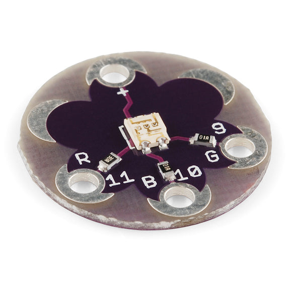 Lilypad Tri-Color Led Arduino Wearables Promotion