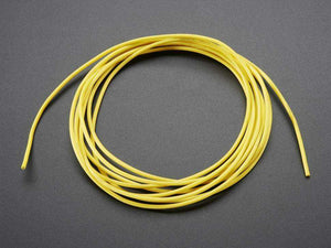 Silicone Cover Stranded-Core Wire - 2M 26Awg Yellow Prototyping Promotion