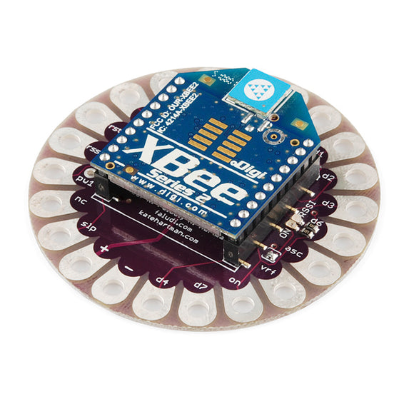 Lilypad Xbee Arduino Wearables