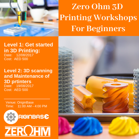 Level 2: 3D Scanning And Maintenance Of Printers Zero Ohm Training Center