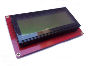 Basic 20X4 Character Lcd - Black On Green 5V Modules