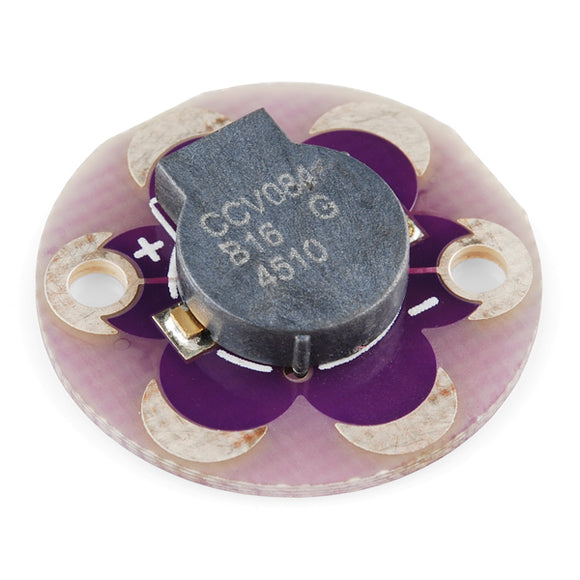 Lilypad Buzzer Arduino Wearables