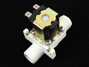 Plastic Water Solenoid Valve - 12V - 1/2 Nominal Actuators