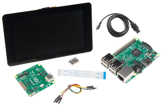 Raspberry Pi 3 with 7