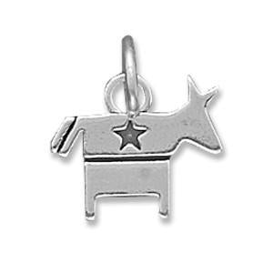 Democratic Donkey Charm
