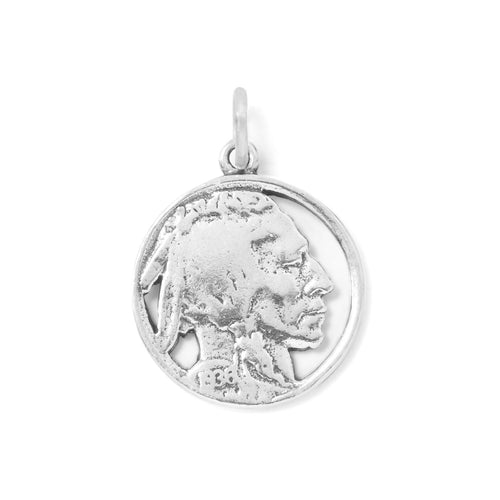 Indian Head Nickel Charm