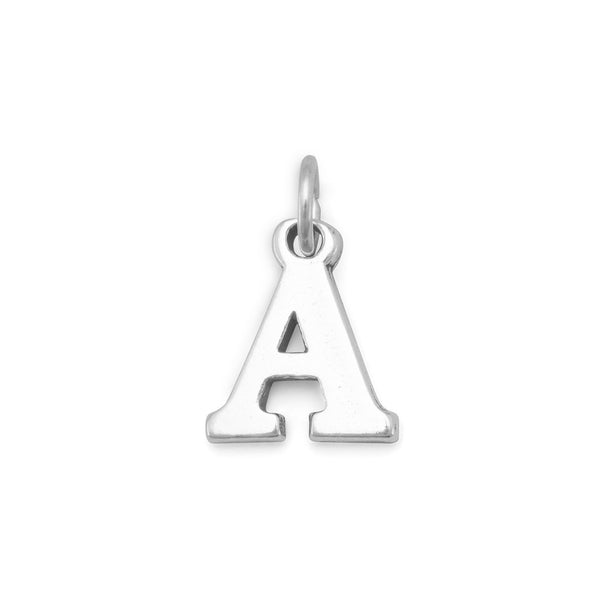 Greek Alphabet Letter Charm - Alpha