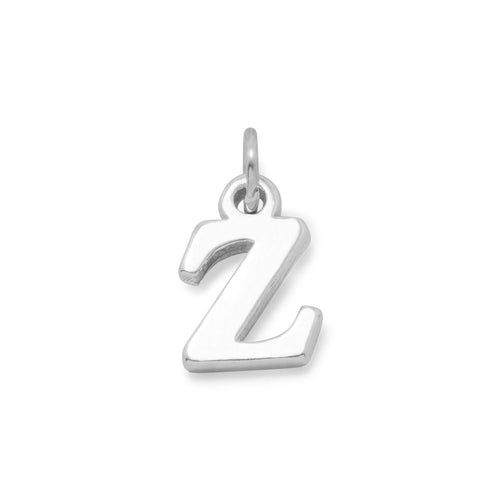 Greek Alphabet Letter Charm - Zeta