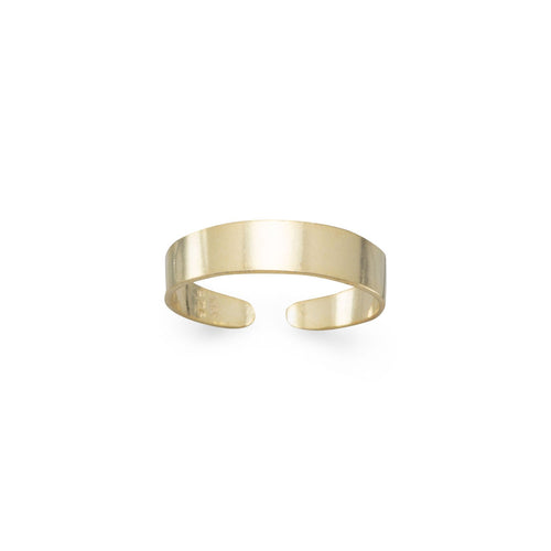 14 Karat Gold Plated Toe Ring