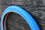 LS077 BLUE BICYCLE SLICK TYRE TIRE 26 X 2.10