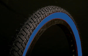 LS214 BLACK BLUEWALL BMX TYRE TIRE 20 X 2.125