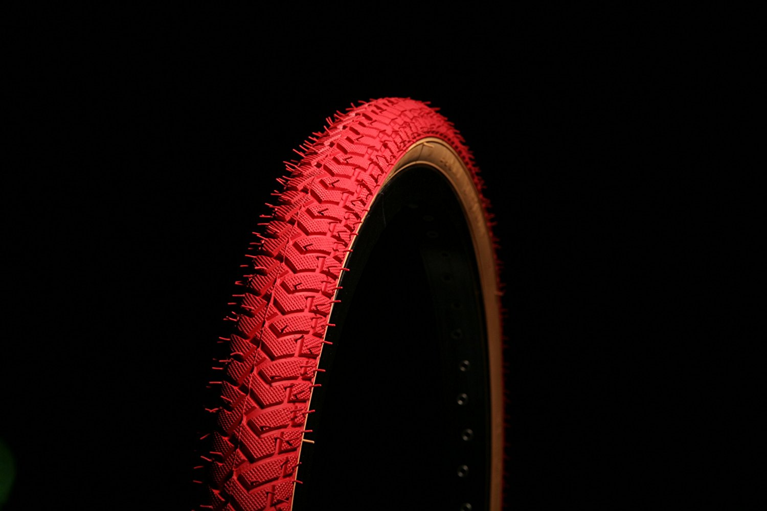LS 214 RED GUMWALL BMX TYRE TIRE 20 X 2.125