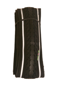 SA235 ALL BLACK 700 X 38 HYBRID BIKE 29ER ROAD TYRE - With Aramid Puncture Protection