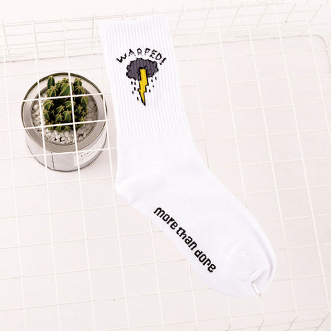 """BOLTED"" Quality Streetwear Socks"