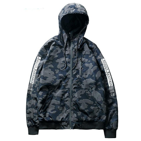"""MILITARY"" Hooded Bomber Jacket"