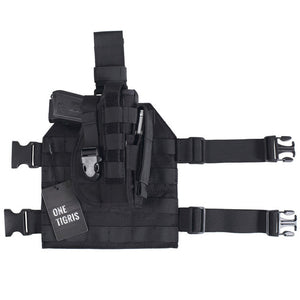 OneTigris Tactical Gun Holster with Magazine Pouch for Right Handed Shooters 1911 45 92 96 Glock