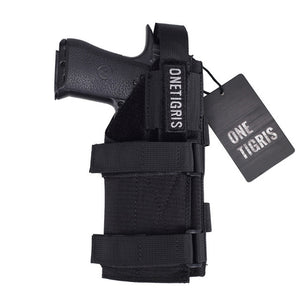OneTigris Tactical Gun Holster Molle Modular Belt Pistol Holster for Right Handed Shooters