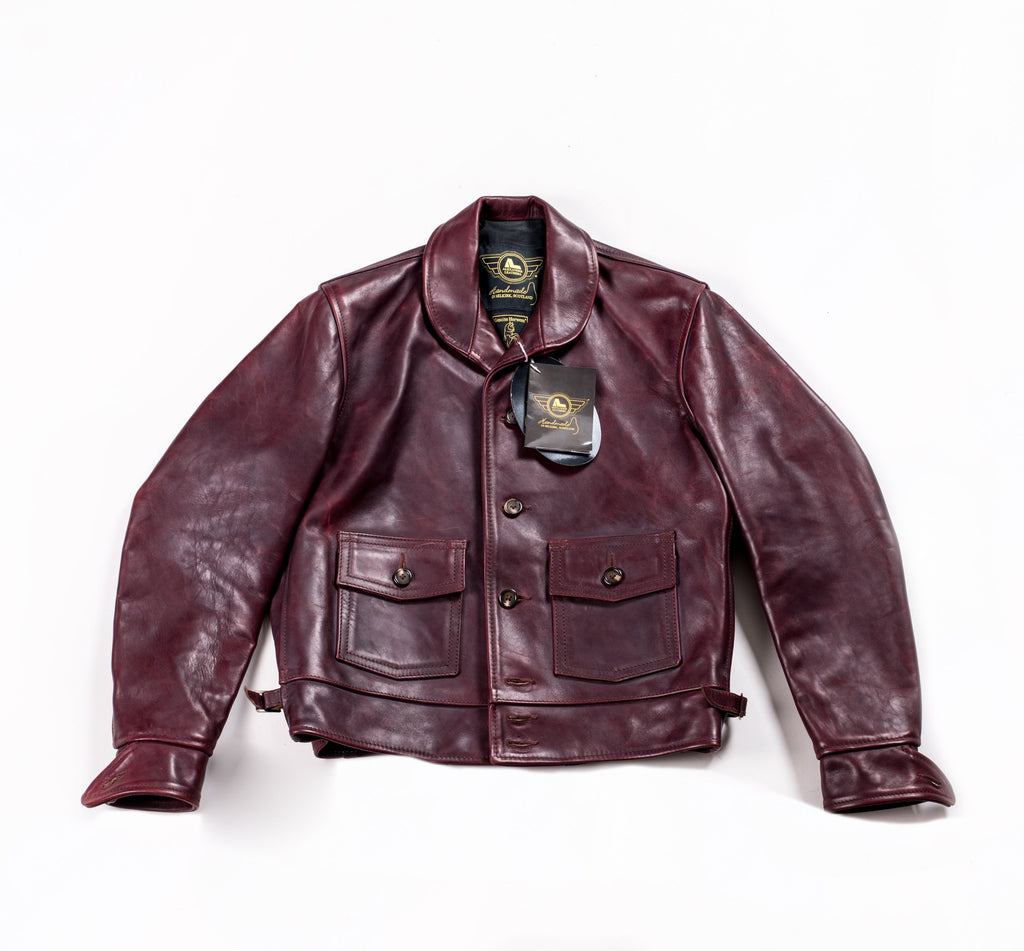 Alexander Leathers Simmon's Bilt Jacket - Atacama Clothing
