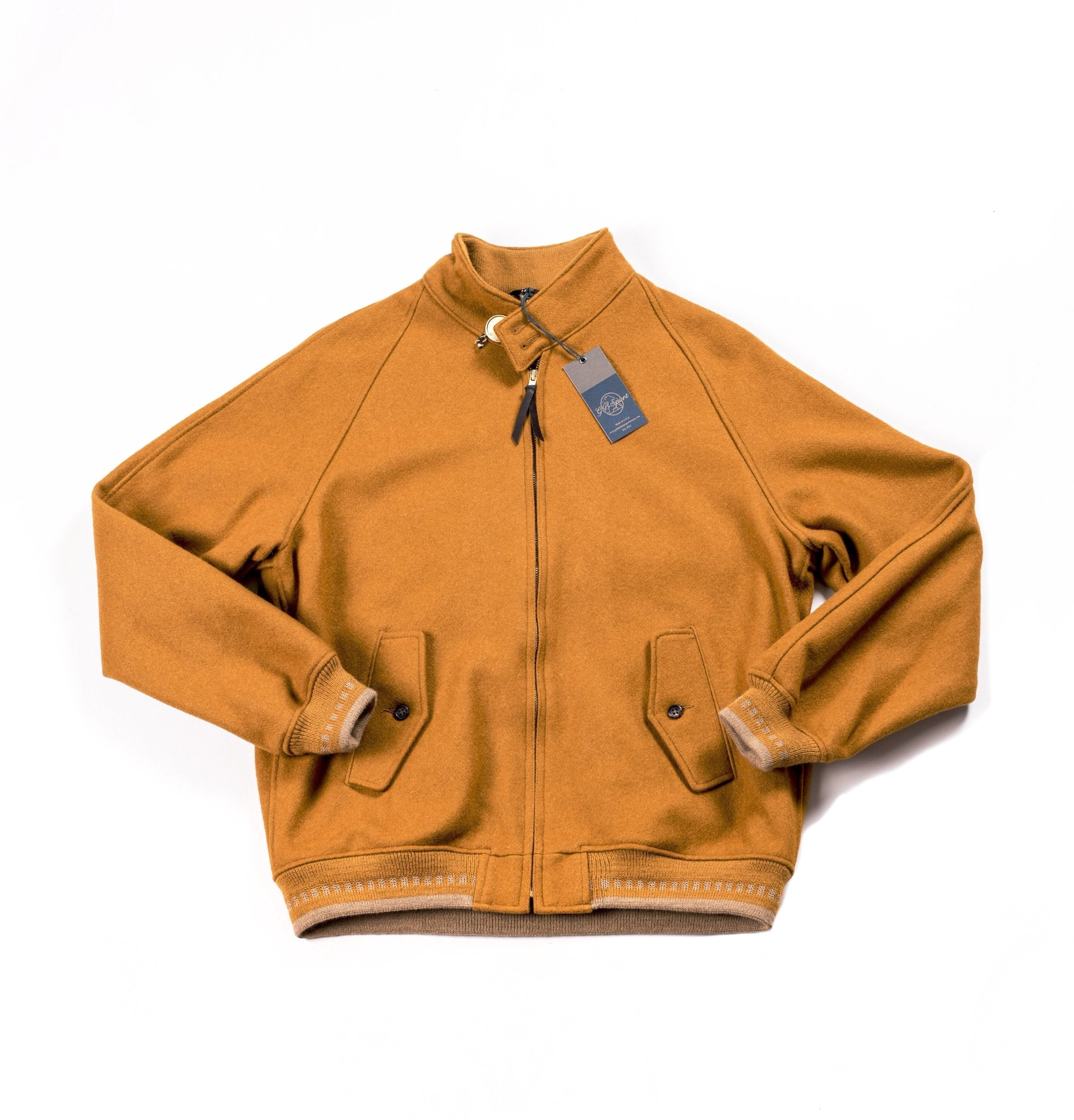 Golden Bear Melton Jacket - Atacama Clothing