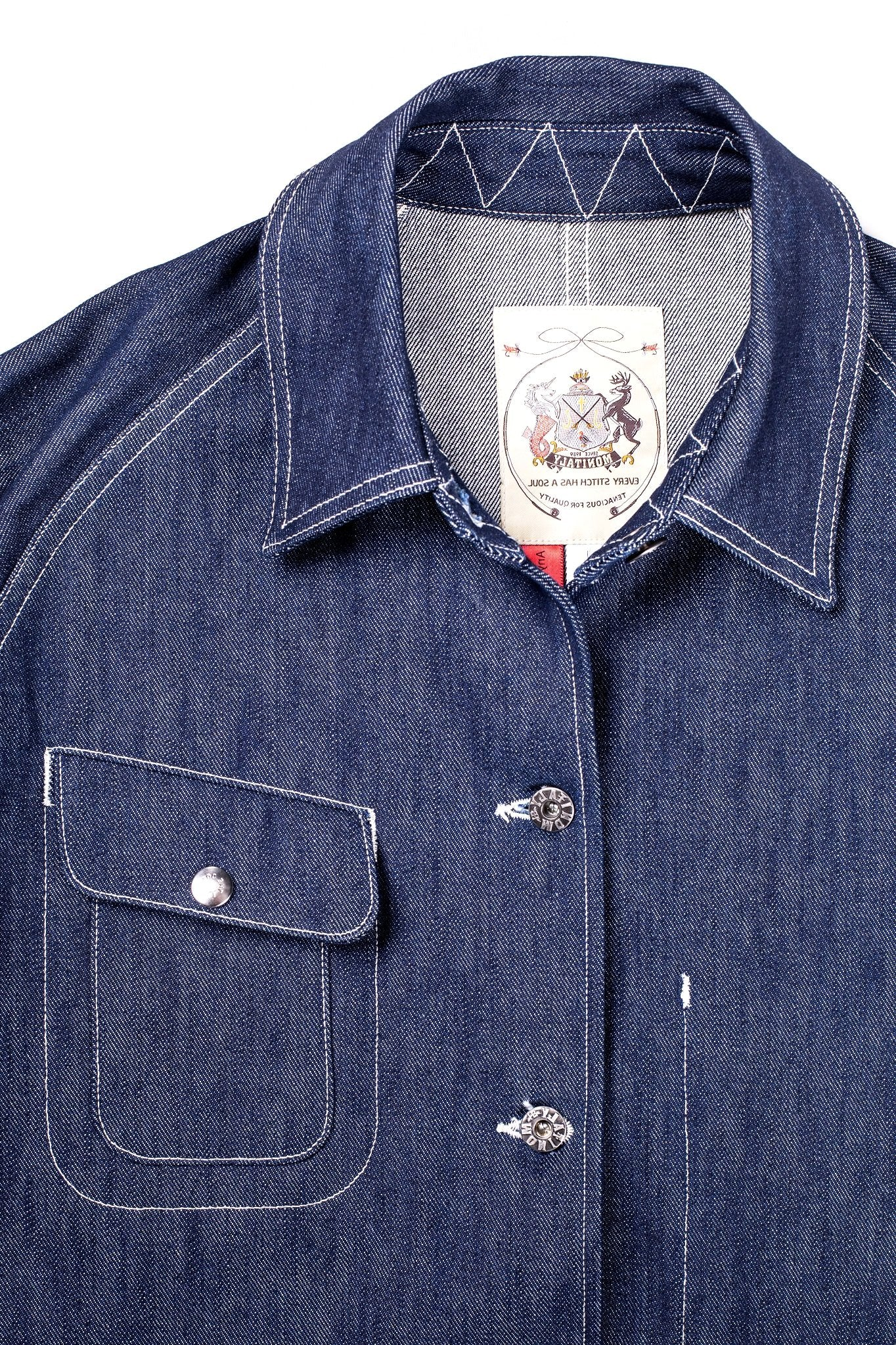 Monitaly Denim Coverall - Atacama Clothing