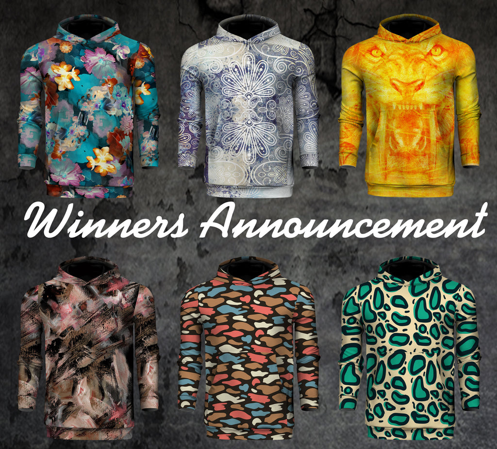 Hoodies Giveaway Winners