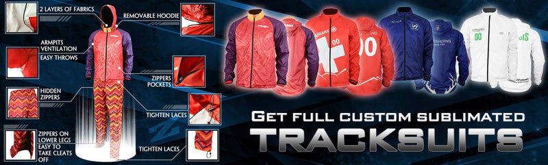 CUSTOM SUBLIMATED TRACKSUITS