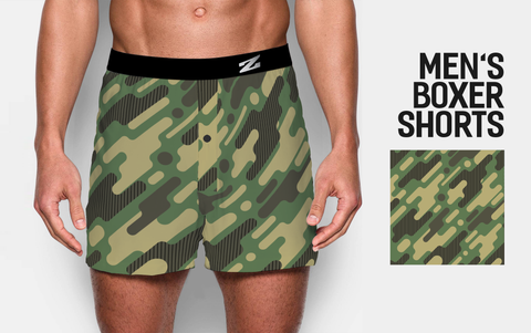 MEN'S CAMOUFLAGE BOXER SHORTS