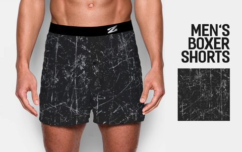 MEN'S PRINTED BOXER SHORTS