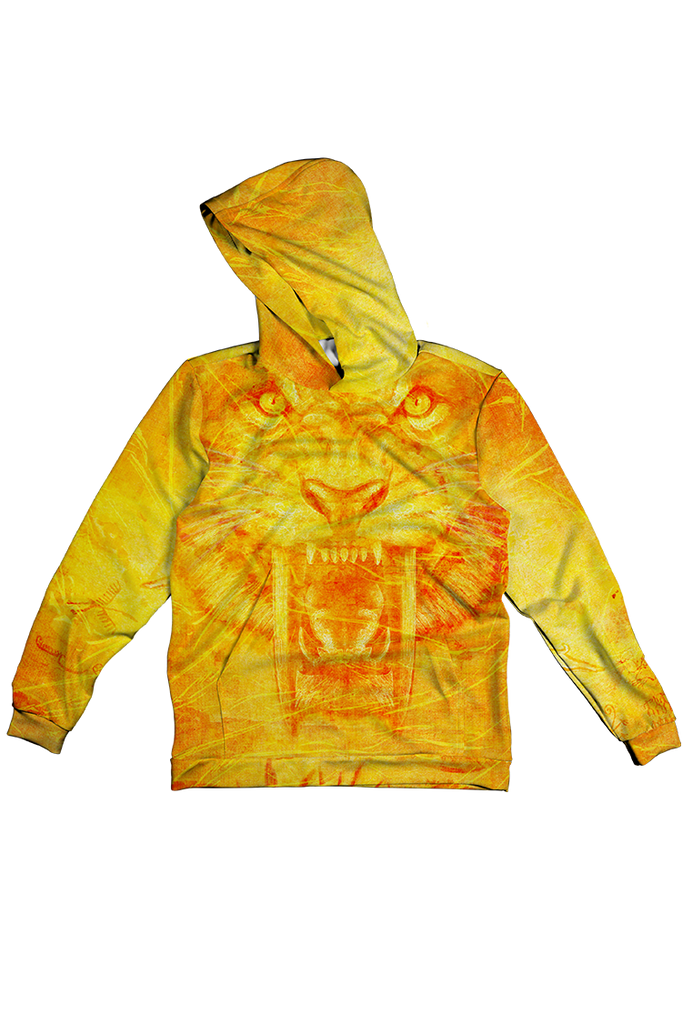 SABER CAT 100% POLYESTER HOODIE