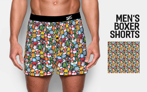 MEN'S CHRISTMAS BOXER SHORTS