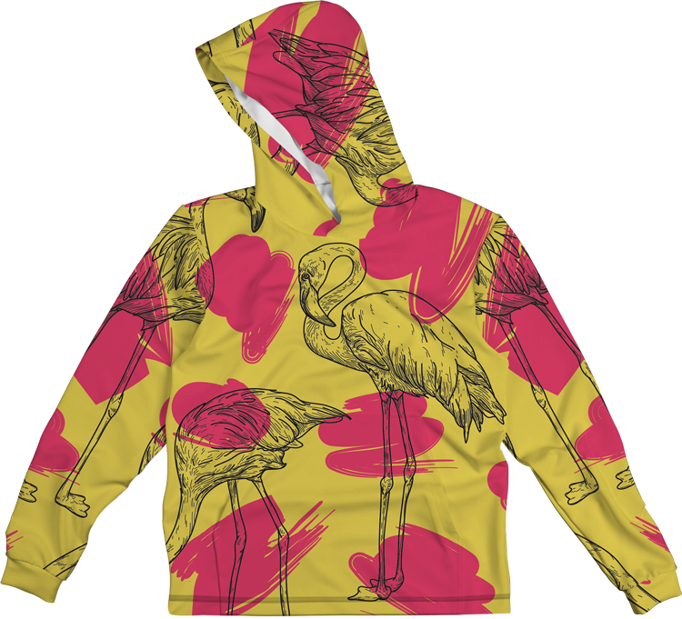 YELLOW BIRD LIGHTWEIGHT SUN HOODIE