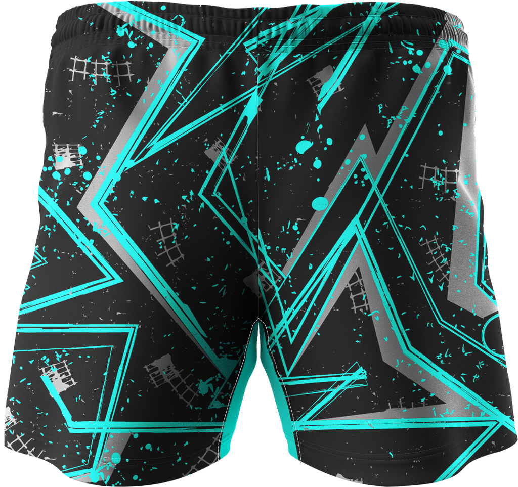 Texture Printed Training Shorts