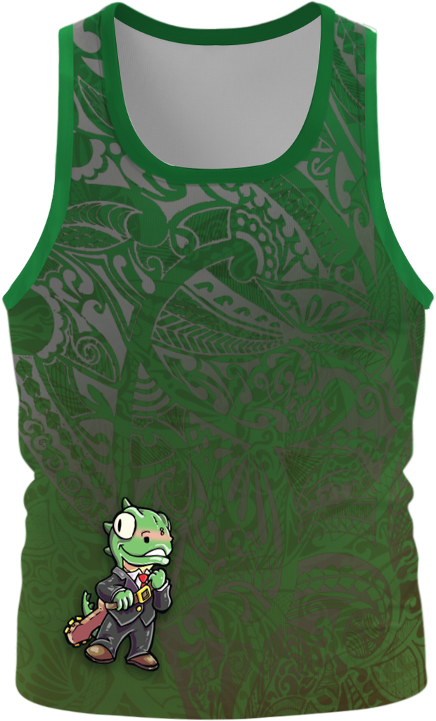 Diego The Lizard Singlet