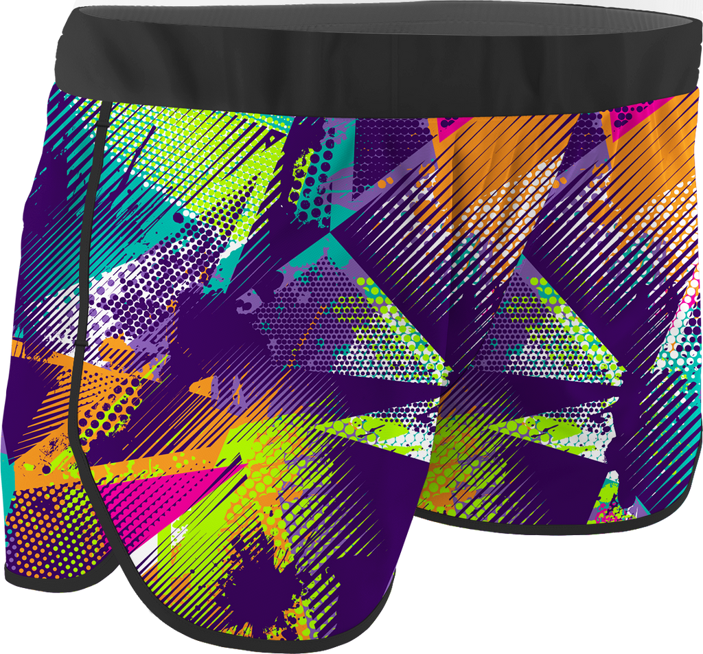 Women's Colors Printed Running Shorts