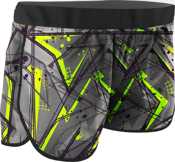 Women's Urban Printed Running Shorts