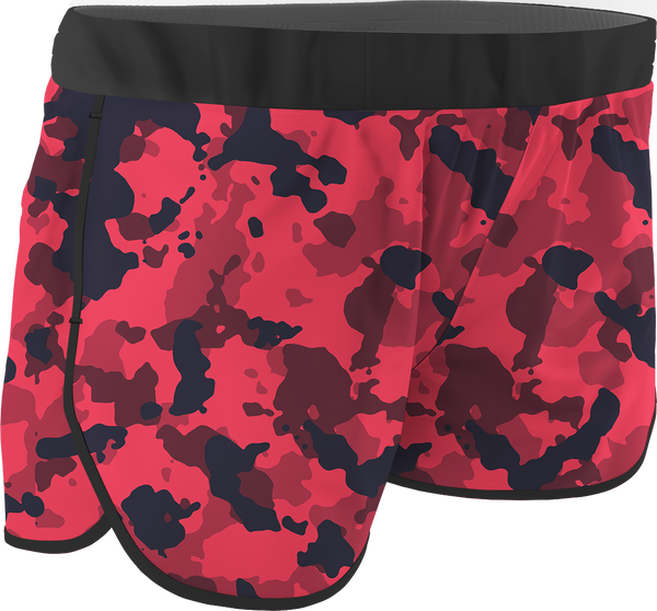 Women's Camo Printed Running Shorts