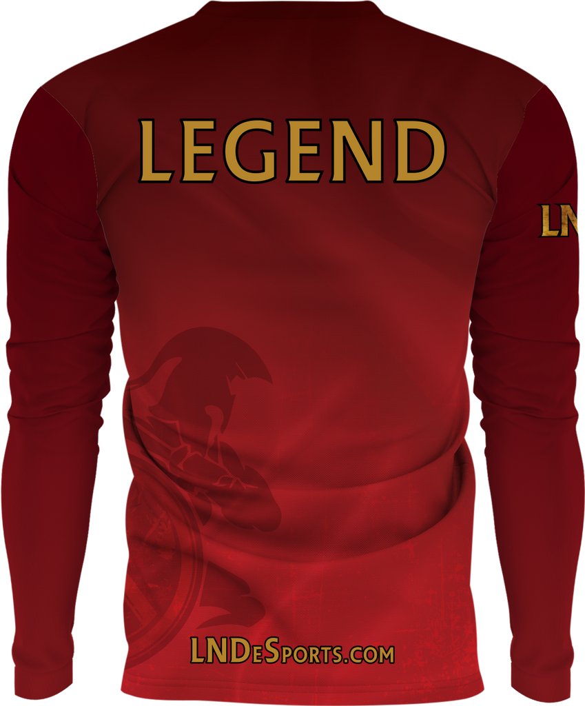LND Fan Longsleeve (Available in Youth' size) - SuperFly X fabric