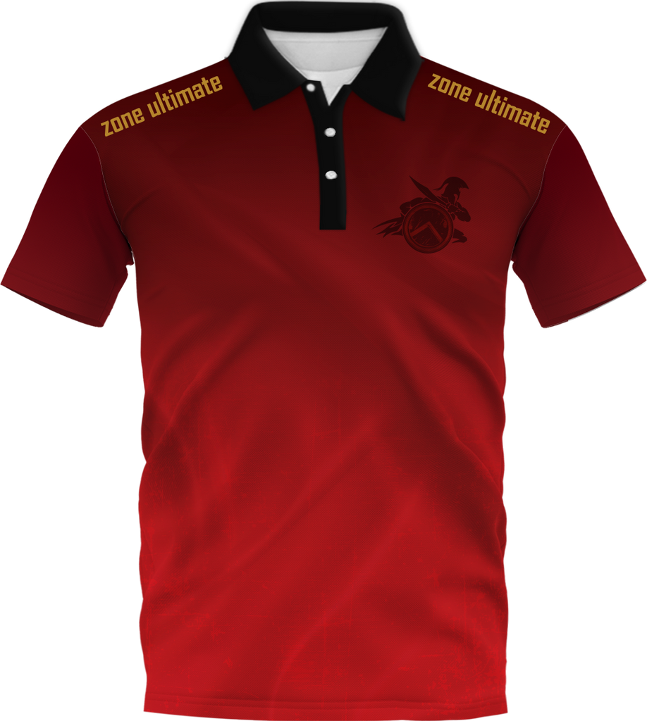 LND Fan Polo - Velocity I fabric