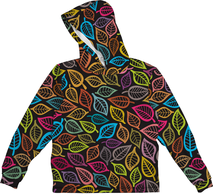 LEAF COLORFUL A LIGHTWEIGHT SUN HOODIE