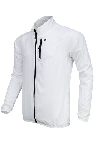 TRAVEL PACKABLE JACKET WHITE