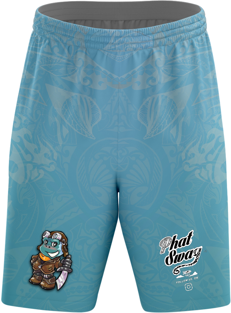 Blue Monkey Shorts