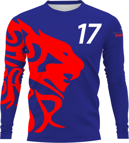 Uproar USA Blue Longsleeve- fabric options
