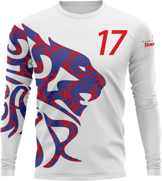 Uproar USA White Longsleeve- fabric options