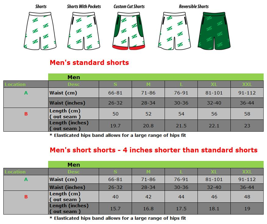 Uproar Shorts - fabric options